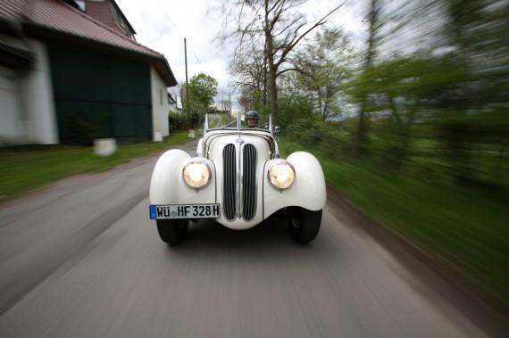 BMW 328 MM 15 - Henri Thibault