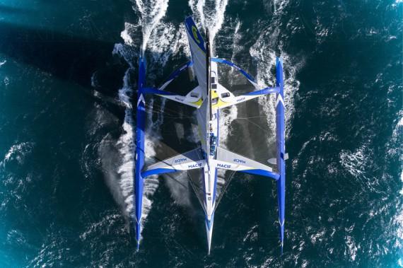 Ruban bleu et jaune - Jean-Marie Liot