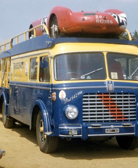 Maserati transporter - Motorsport Images