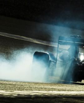 Tyres smoke - Xavi Bonilla